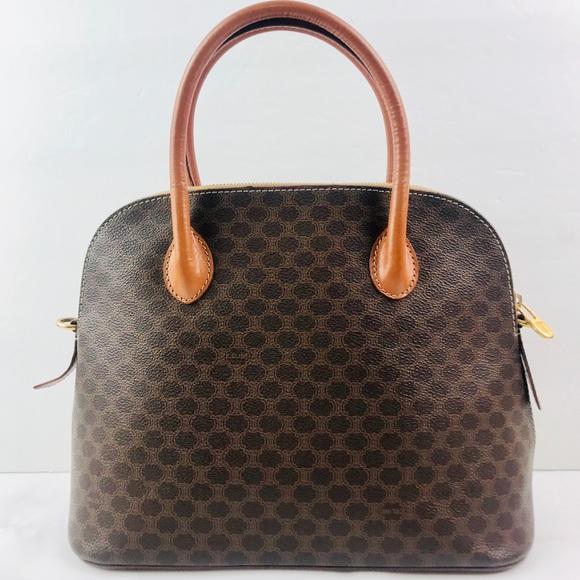 Celine Handbags - Authentic Celine Vintage Monogram Handbag 12290d220f0dc
